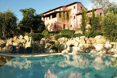 Rustic Le Rondini villa with pool, superb outdoor space, mountain views and close to Montopoli - Image 1 - Pisa - rentals