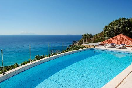 Magnificent Gouverneur View with a terrace and pool overlooking the ocean - Image 1 - Gouverneur - rentals