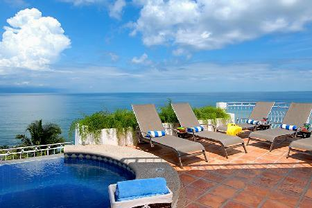 Multilevel Villa Marbella- short walk to beach, infinity pool, staff, great for groups - Image 1 - Puerto Vallarta - rentals