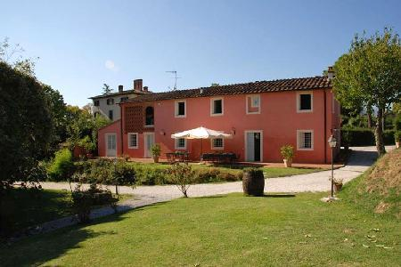 Casa Rosa- dazzling hillside views, lush intimate garden with saltwater pool - Image 1 - Lucca - rentals