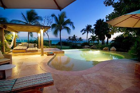 Villa Maria - Island villa surrounded by tropical garden & sweeping view of the Caribbean - Image 1 - Punta de Mita - rentals