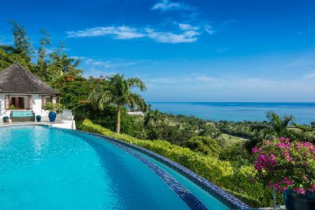 Ocean view Anticipation at Tryall Club- golf, infinity pool, staff & short walk to beach - Image 1 - Montego Bay - rentals