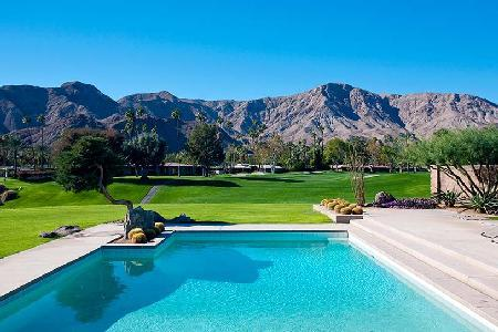 1955 William Cody Estate Overlooking the 9th and 18th Greens - Enjoy View & Pool - Image 1 - Rancho Mirage - rentals