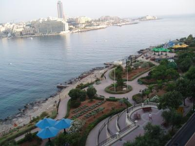 Location of Property Independence Gardens - Sliema Waterfront Apartment - Sliema - rentals