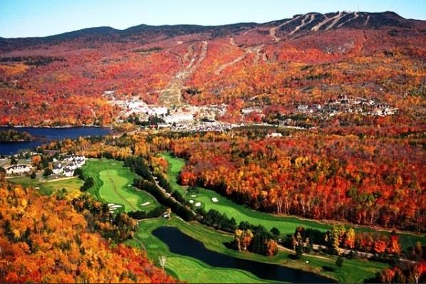 Tremblant fall golf  - Beautiful Tremblant 3 Bdrm 2 Storey Chalet - Mont Tremblant - rentals