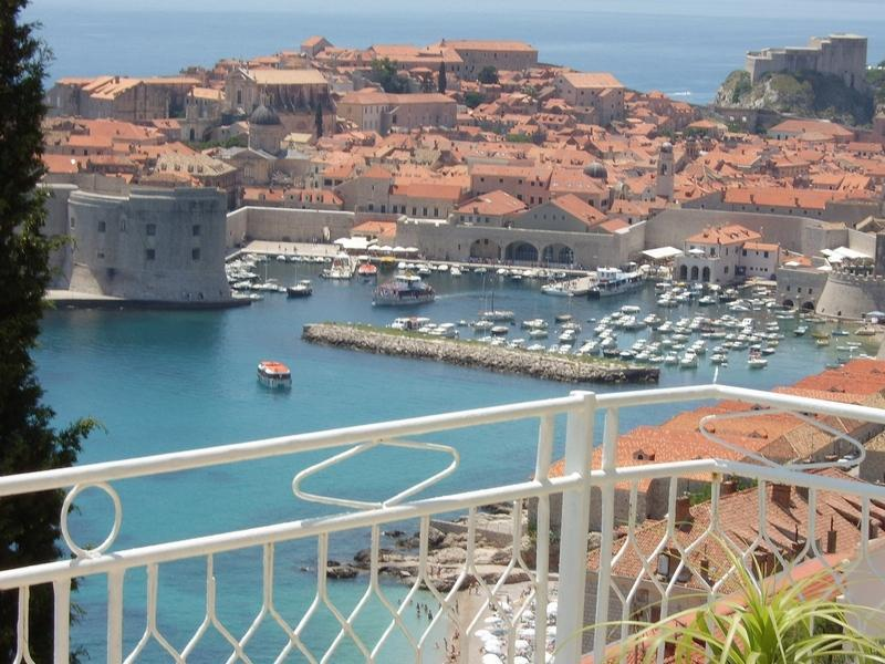View from terrace - Apartment Vision in Dubrovnik - Dubrovnik - rentals