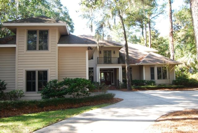 Front of the home - 29 Baynard Cove - Hilton Head - rentals