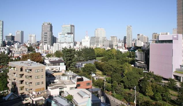 Amazing view from balcony - Amazing View Apartment Roppongi 1 min to station - Minato - rentals