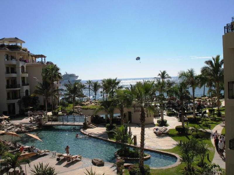 Actual view From The Balcony - 5 Star Hotel Amenities Luxury at Villa La Estancia - Cabo San Lucas - rentals