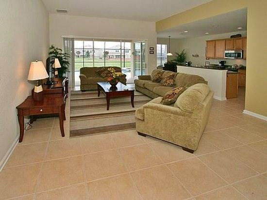 Living Area - WH5P7758TB 5 BR Holiday Villa Close to Disney World - Kissimmee - rentals