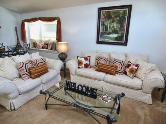 Living Area - LB4P971LBD 4BR Modern Style Pool Home With Lake View - Kissimmee - rentals