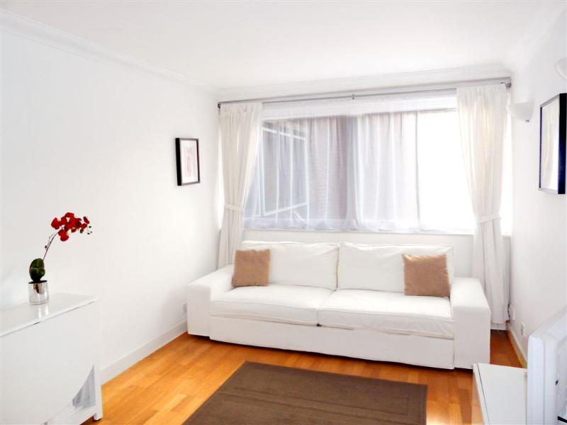 Large sofa with kingsize sofabed option, dining table & 4 chairs, TV/DVD, black out blinds - Award Winner: Gorgeous Apt, Trendy Fitzrovia W1 - London - rentals