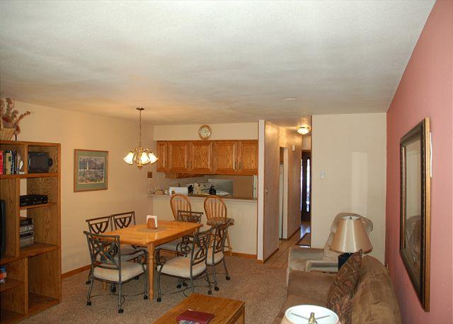 Living Room to Kitchen - 109 F Val Chatelle - Frisco - rentals