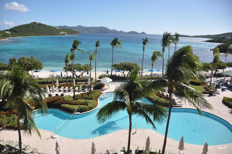View from 5th Floor Residence in Jasmine - Ritz-Carlton Club-St. Thomas; Lots of Availability - Saint Thomas - rentals