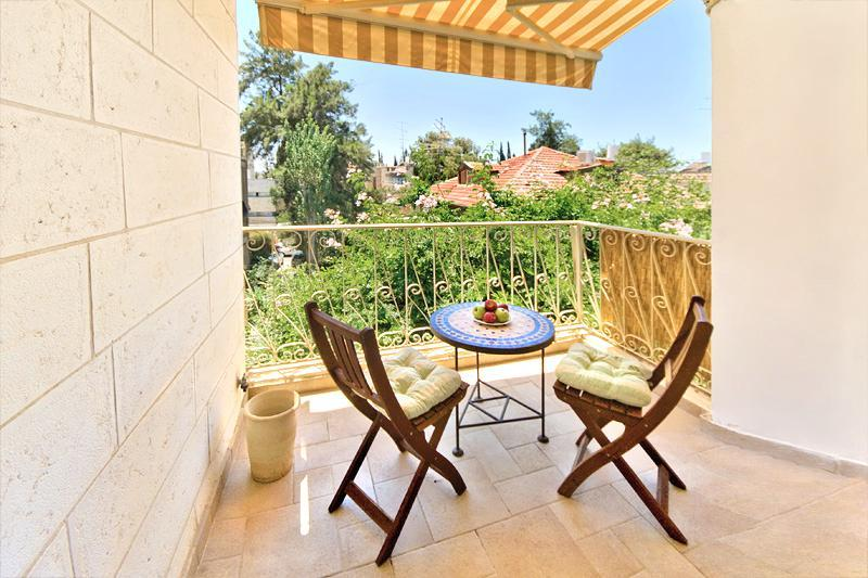 View from the balcony - BEST DEAL! BEST LOCATION! STUNNING 2 BDR! - Jerusalem - rentals