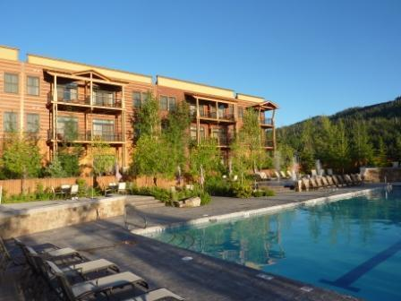 Summer Pool and Lodge - Teton Springs Resort 1 BR Luxury Condo in Hotel - Victor - rentals