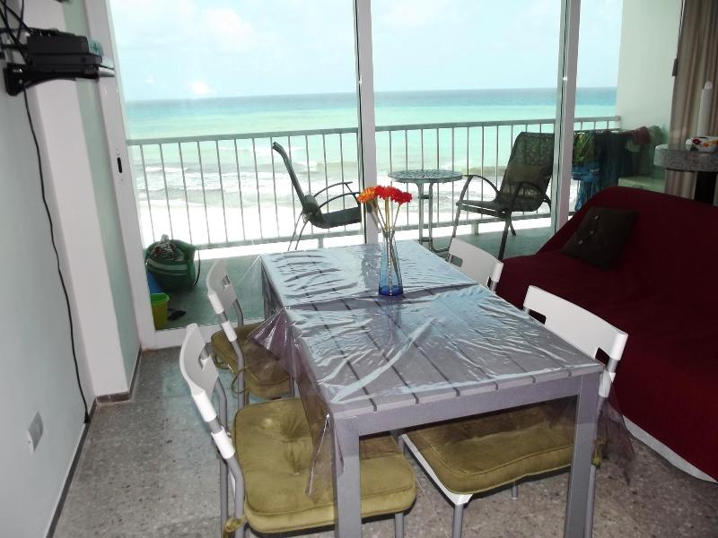 View from bedroom - PUNTA CANCUN 1BR BEACHFRONT CONDO FALL ON SALE! - Cancun - rentals