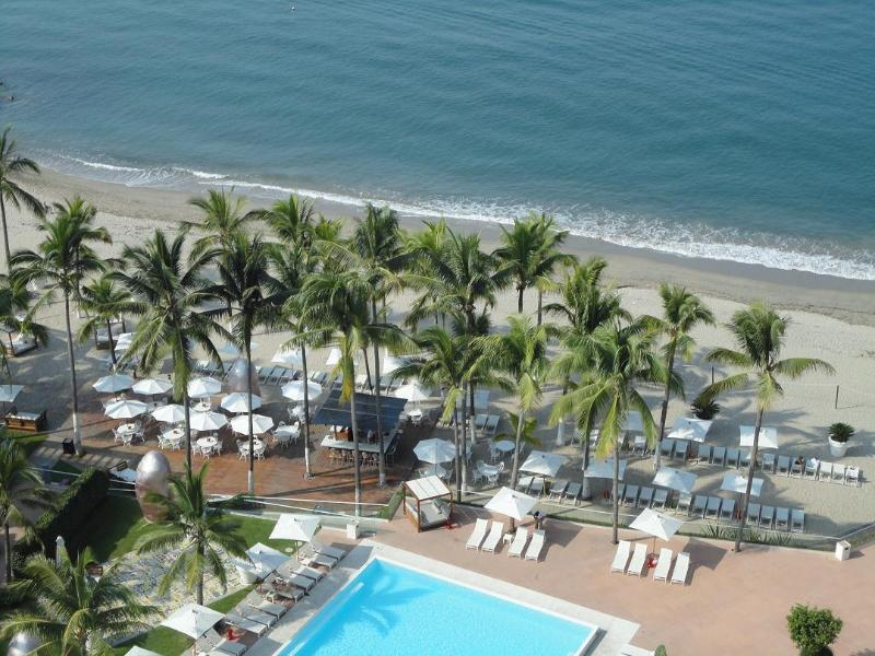VIEW FROM THE BALCONY 15TH FLOOR - ICON VALLARTA LUXURY Ocean Front Floor 15th - Puerto Vallarta - rentals