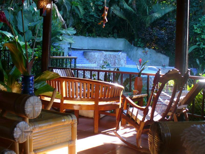 Jungle view from everywhere in the villa - Very private oceanview Jungle Suite. Enjoy nature - Manuel Antonio - rentals
