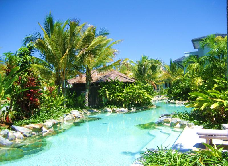 Here's the view from the rear of our apartment - Private Managed Swimout In Seatemple Port Douglas - Port Douglas - rentals