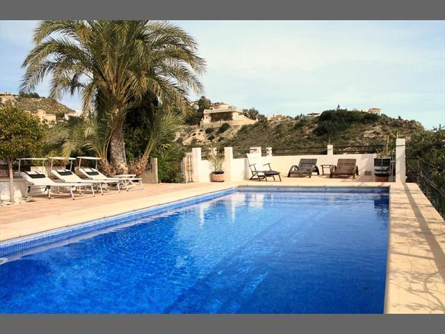 Private Pool area - Villa for large families or group of friends - El Campello - rentals
