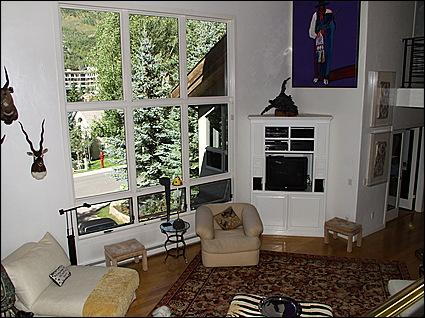 Great Room- 20 foot Cathedral Ceilings - Contemporary Elegance - Newly Renovated (2756) - Vail - rentals
