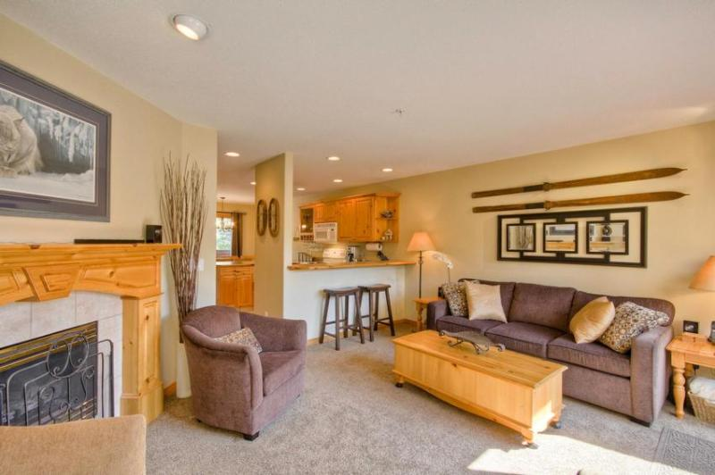 Bright open living area - Blue Moon Lodge - Sun Peaks - rentals