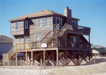 Oceanfront on big new Nags Beach 4 br dbl decks - Image 1 - Nags Head - rentals