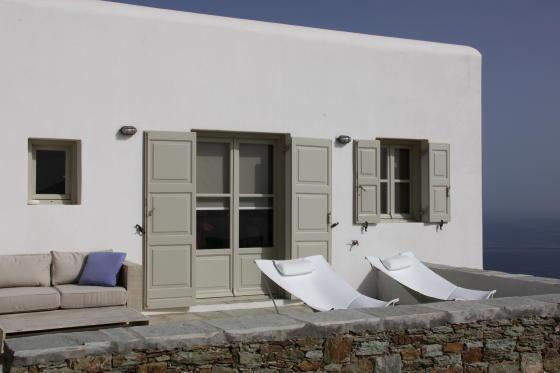 exterior view - Vacation home on Folegandros Island, Greece - Folegandros - rentals