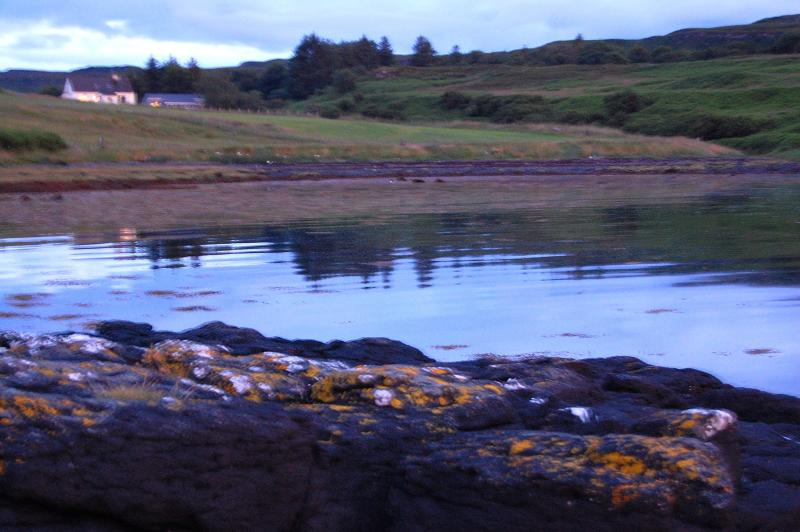 Knott Cottage from headland - 2 bedroom apartment with superb view over loch - Isle of Skye - rentals