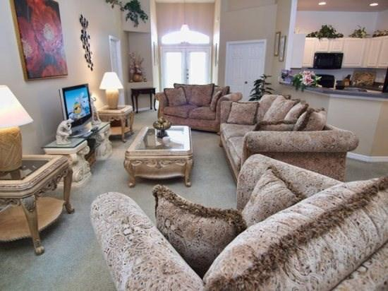 Family Room - BWC4P116WL 4 BR Holiday Home Luxuriously Decorated - Davenport - rentals