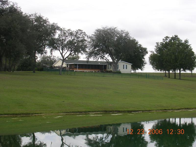 View from the lake - Organic Farm - Great Place for Cycling - Dade City - rentals