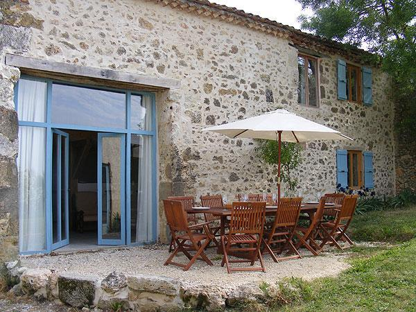 """Terrace - Gascon Stone """"Chai"""" with 4 beds all ensuite - Gers - rentals"""