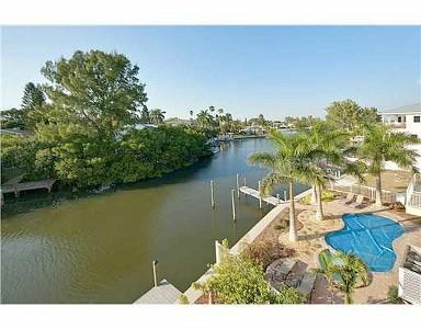 terrace view - Waterfront Home in the Heart of Anna Maria. - Anna Maria - rentals