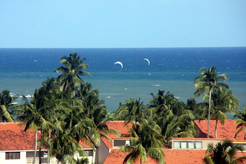 View from the Balcony - Breathtaking Ocean View Condo w/ 3 bdrms in Palmas - Humacao - rentals