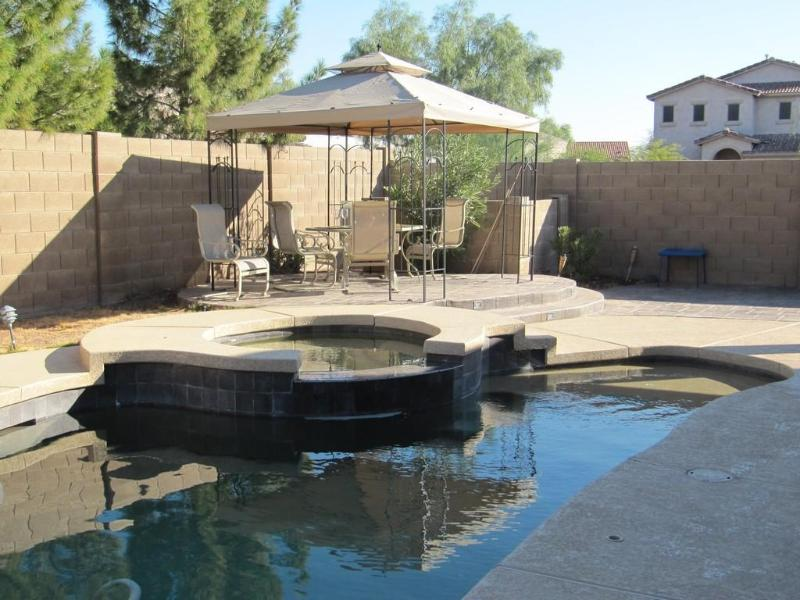 Backyard - Beautiful 4 Bedroom getaway - Queen Creek - rentals