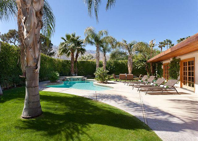 """Pool - Buena Vista House ~ Experience """"Tropical Paradise"""" in Ruth Hardy Park - Palm Springs - rentals"""