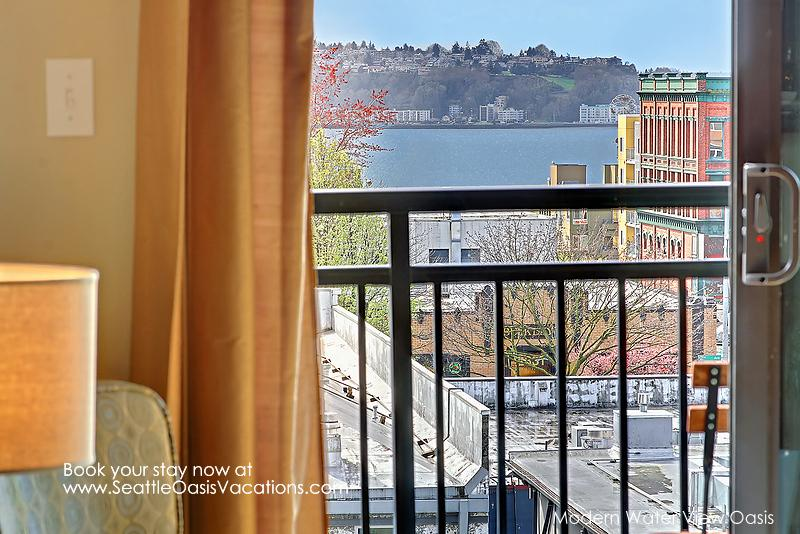 1 Bedroom Modern Water View Oasis-Walk to the Pike Place Market! - Image 1 - Seattle - rentals