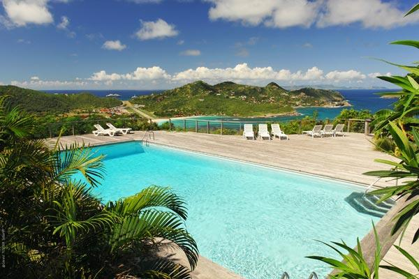 Situated in the Hauts de St. Jean offering excellent view over the ocean WV CCM - Image 1 - Saint Jean - rentals