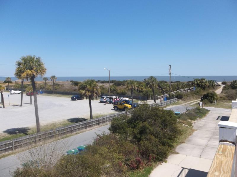 View From Upstair deck! - Townhouse w/ views of Tybee Lighthouse and Ocean! - Tybee Island - rentals