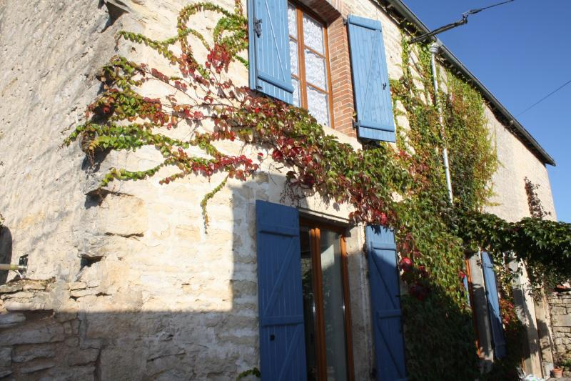 Front of Maison Valois - 19th Century House with View of Burgundy Vineyards - Burgundy - rentals