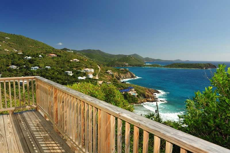 View from the deck of the east bedroom - Secluded Getaway with Breathtaking Views - Hart Bay - rentals