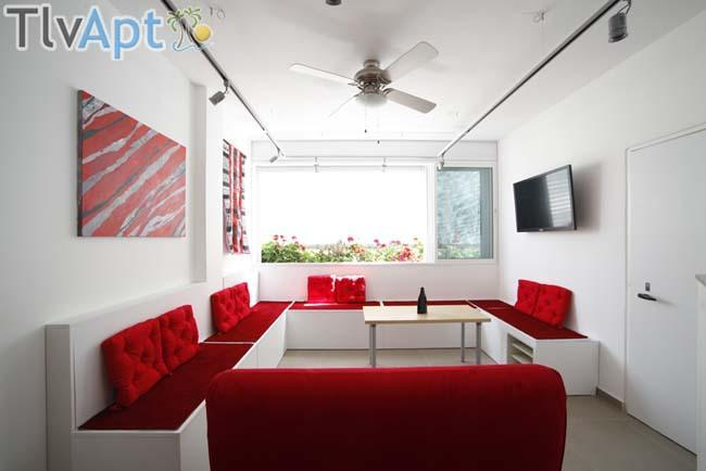 Shenkin Penthouse with Private Roof- IsraelApt- 12 - Image 1 - Tel Aviv - rentals