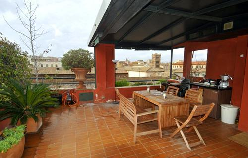 A tower penthouse with panoramic terrace over Rome - Romantic Roman 2 Bedroom Penthouse Near Everything - Rome - rentals