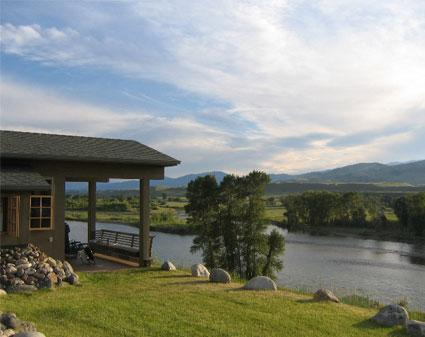 Point of View on the Yellowstone River - 3 Bedroom House overlooking the Yellowstone River - Pray - rentals