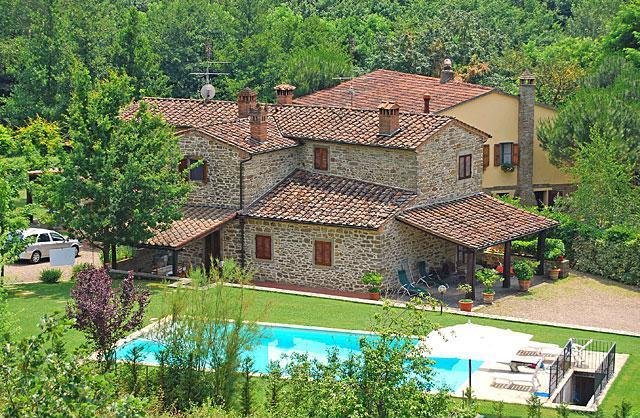 Tuscany Farmhouse with a Private Pool - Casa Antonio - Image 1 - Subbiano - rentals