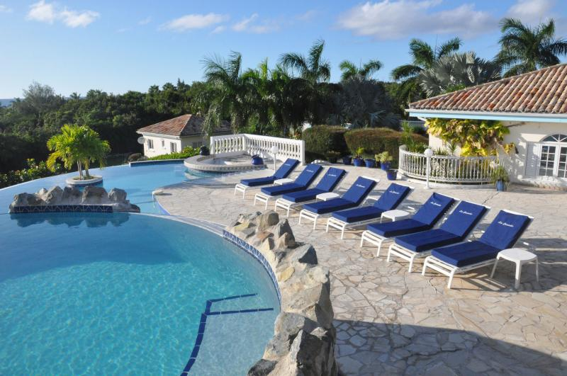Cascades, Terres Basses, St Martin, Elevated pool