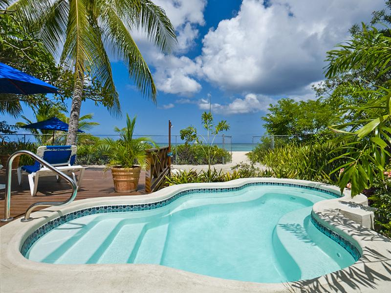 Pool with Sea View - Exclusive three bedroom beachfront villa - Saint Michael - rentals