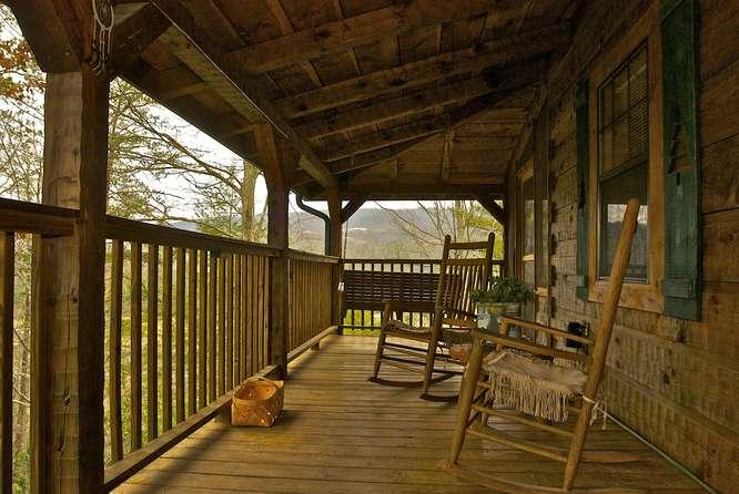 Mountain Rose Log Cabin- Buy 5 Nights or More Get 1 Free! Romantic, Private & Peaceful Property w/Fishing Pond, Pool Table & More - Image 1 - Sevierville - rentals