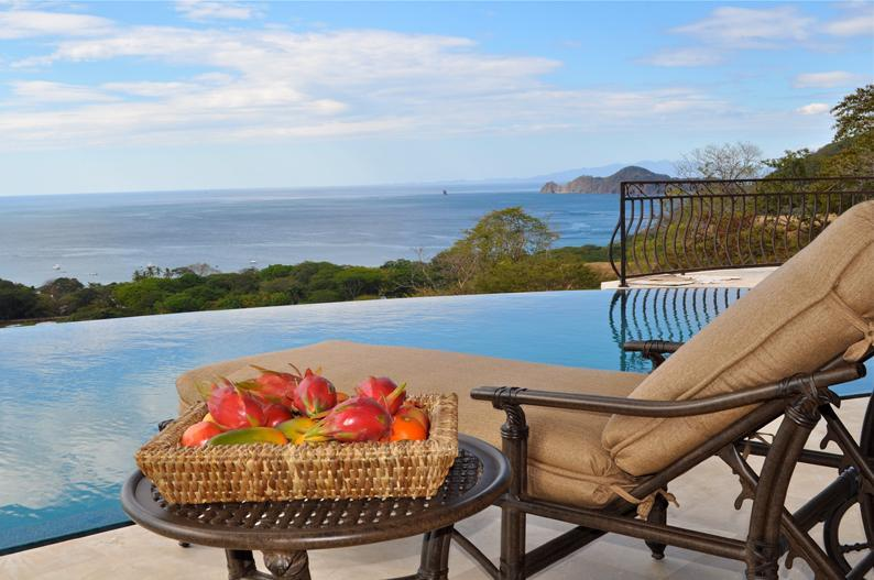 Infinity Pool and Gulf of Papagayo - Luxurious Ocean View 5 Bedroom Villa - Playa Hermosa - rentals